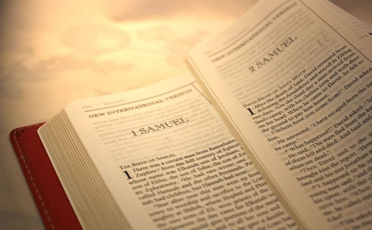 II Samuel, Book of I Samuel, Bible Reading